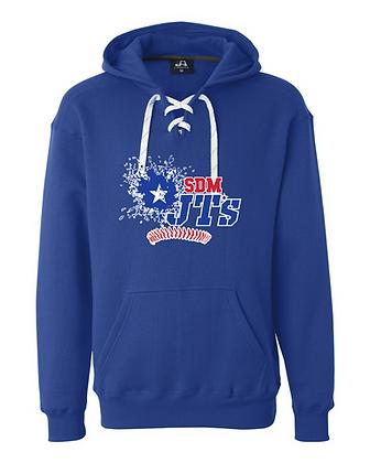 SDM JT's Sport Lace Hoodie Royal Blue