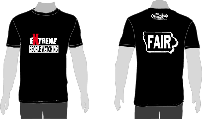 "Sate Fair Shirt ""EXTREME PEOPLE WATCHING"""