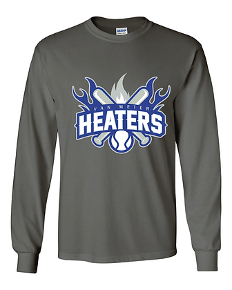 VM Heaters Long Sleeve T - Charcoal
