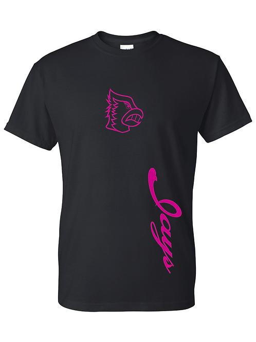 Pink Jays - Black