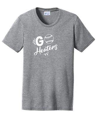 VM Heaters Womens Tee - Go Heaters Logo