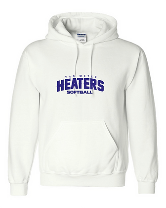 VM Heaters Hoodie - VM Heaters Softball Logo