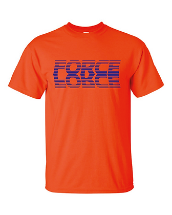 Force Softball Basic Tee (FADE LOGO)