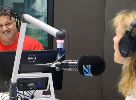 Petra Bagust and Pio Terei discussed 'stories to live by' on Newstalk ZB