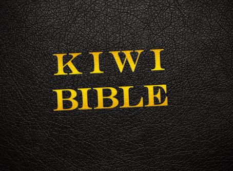 The Kiwi Bible | Imagine the original Christmas story told by a Kiwi Bloke…