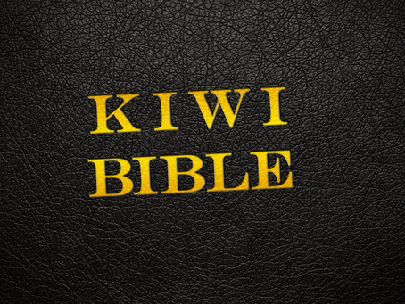 The Kiwi Bible | Imagine the original Christmas story told by a Kiwi Bloke…