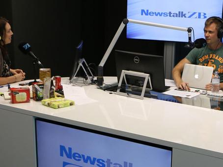 Sam & Julia Bloore explored 'Jesus The Game Changer' on Newstalk ZB