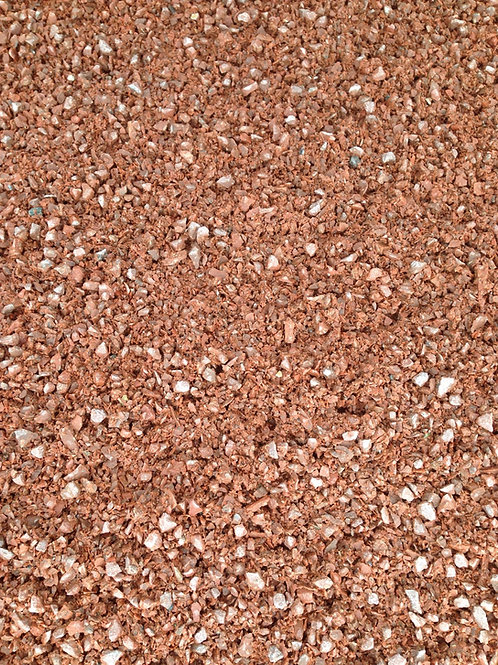 """1/2"""" Red Crushed Stone"""