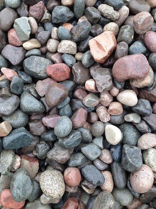 "2"" x 4"" River Rock"
