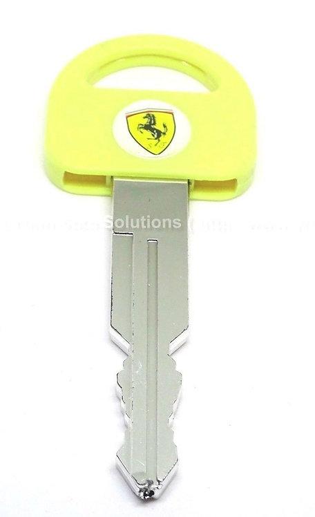 Yellow Car Key Shape Ballpoint Pen New Special Gift Pen 0.7 MM Black Refill