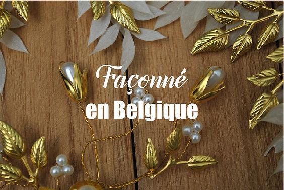 façonné en belgique