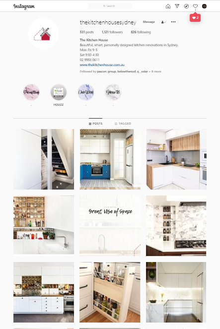 The Kitchen House Instagram