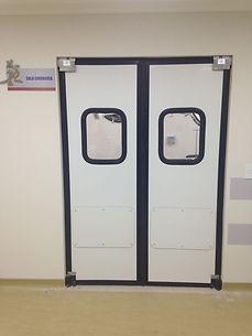 Porta de ABS com vedação