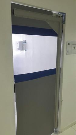 Porta PVC flexível