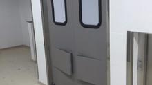 Portas ABS da Imperial Portas Flexíveis, na USP de Piracicaba