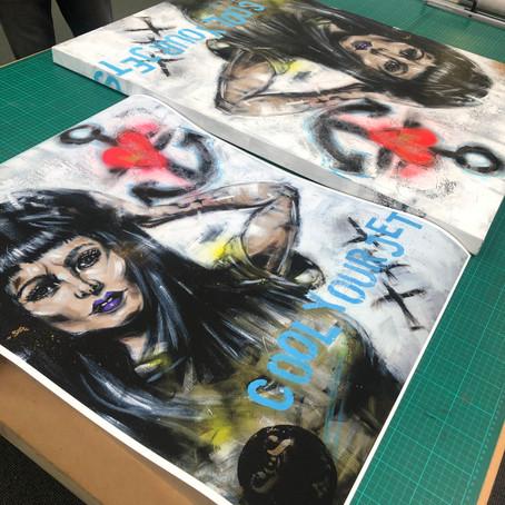 Original canvas art vs art prints?…Seeing both through new eyes.