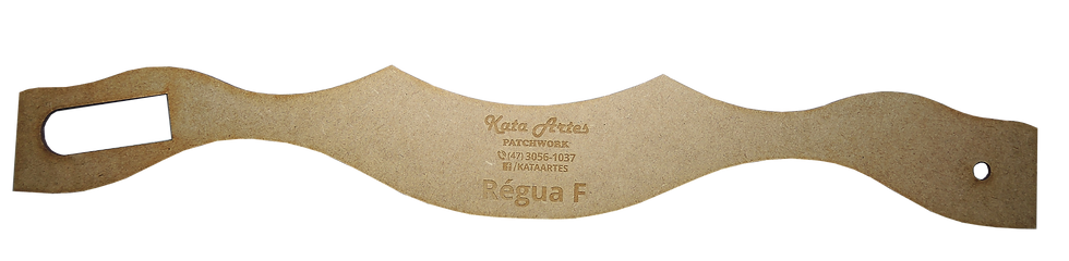 "Régua Kata Artes ""F"""