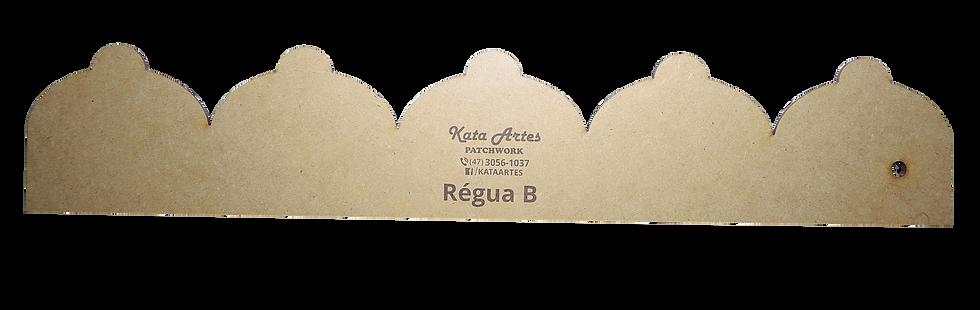 """Régua Kata Artes """"B"""""""