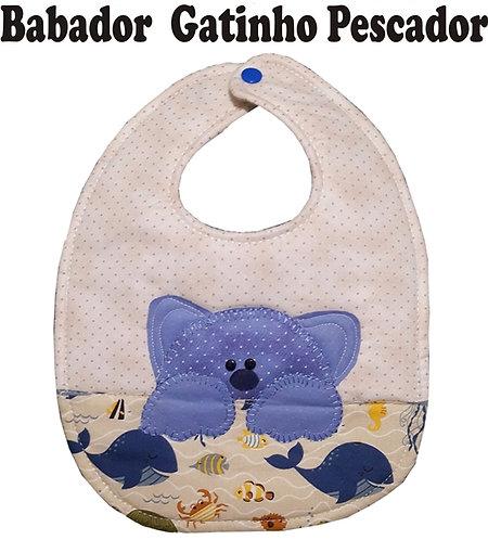 Molde Babador Gatinho Pescador