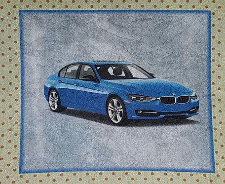 Tecido Carro - BMW Azul
