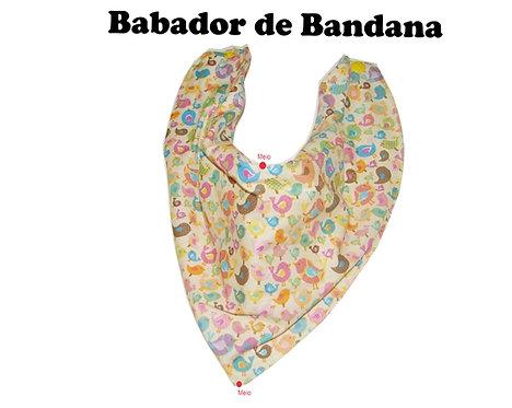 Molde Babador de Bandana