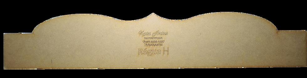 "Régua Kata Artes ""H"""