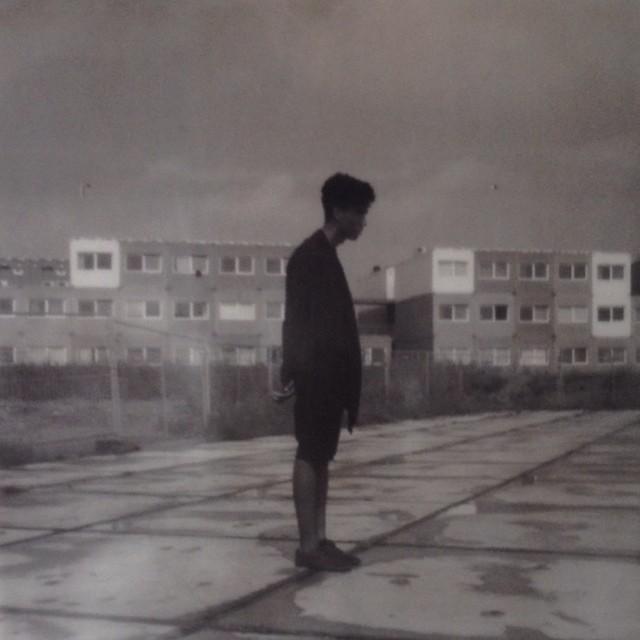 #shooting #male #model Benjamin #amsterdam #ndsm #ij #sx700 #impossiblefilm #polaroid #vintage