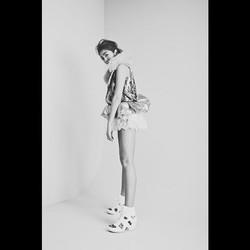 #fashiondesign _alinadoll_lingerie #model _deniserachmat #makeupartist _jannie_bosma_makeupartist