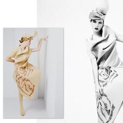 #fashion #editorial with #model _elinee_vdb and #designer _ardoll #amfi
