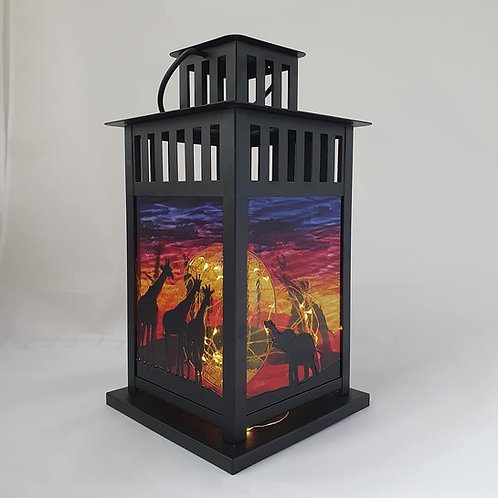 Large Savannah Lantern