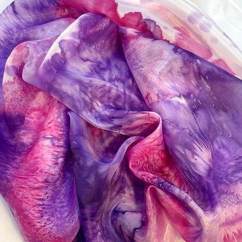 Pink/Purple watercolour