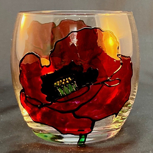 Poppies Tealight Holder