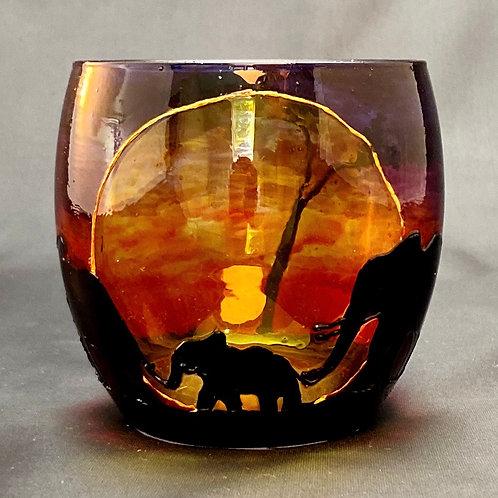 Savannah Elephant Tealight