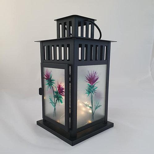 Large thistle lantern