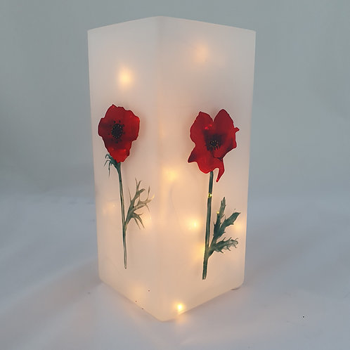 'Large poppy' lamp
