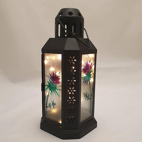 Small thistle lantern
