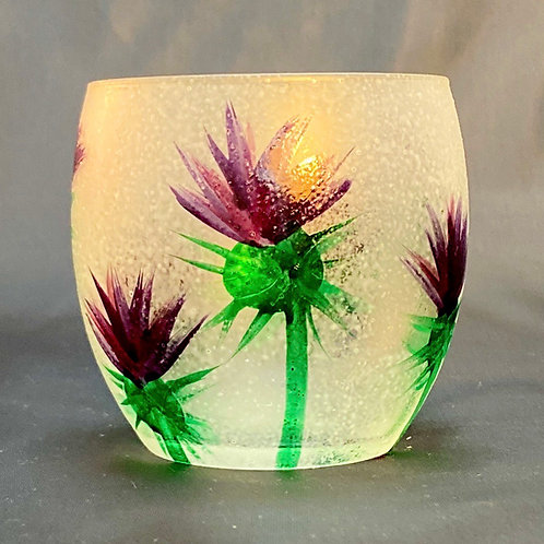 Thistle Tealight