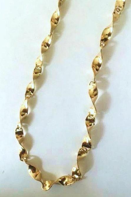 14K Gold Linked Necklace