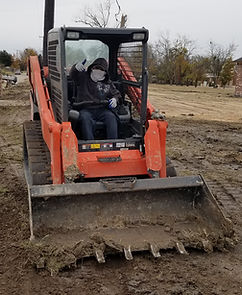 ROUGH GRADING A RESIDENTIAL PROPERTY