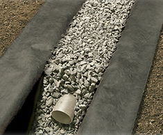 Traditional French Drain