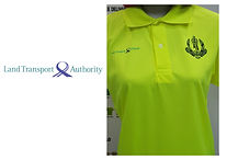 Land Transport Authority T-shirt printing singapore