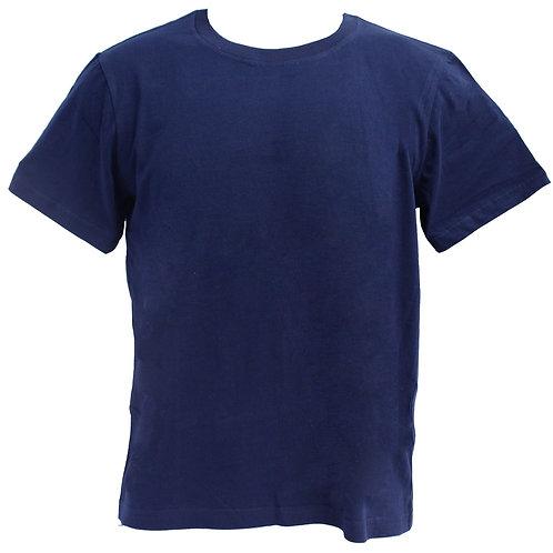 ROUNDNECK 100% COTTON (NAVY BLUE)