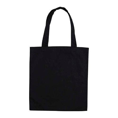 Plain Tote Bag (Black)