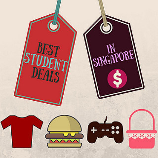 5 places to get student discount in Singapore
