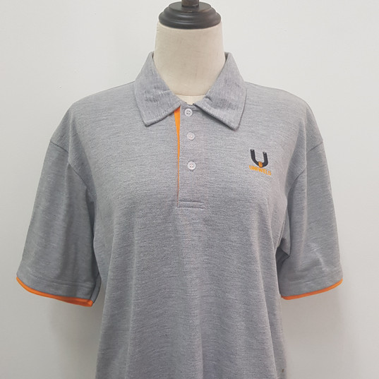 Uniweld Singapore Embroidery with Polo Honeycomb Cotton