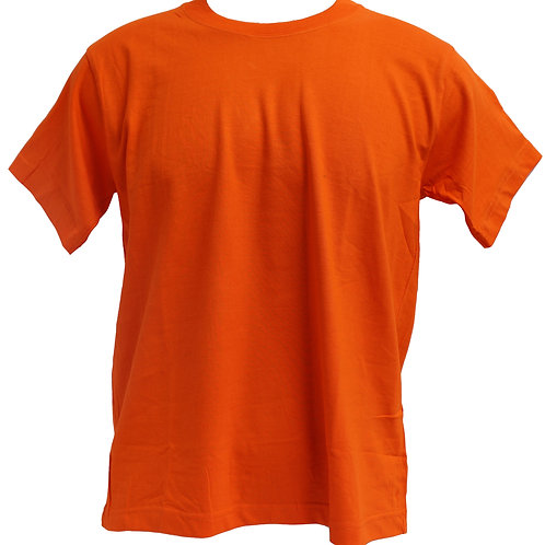 ROUNDNECK 100%COTTON (ORANGE)