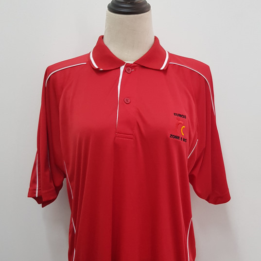 Eunos RC Singapore Polo T-shirt with embroidery