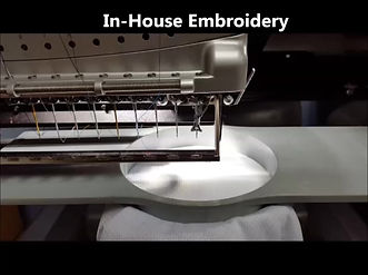 In-house Printing and In-House Embroidery