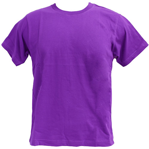 ROUNDNECK 100% COTTON (PURPLE)