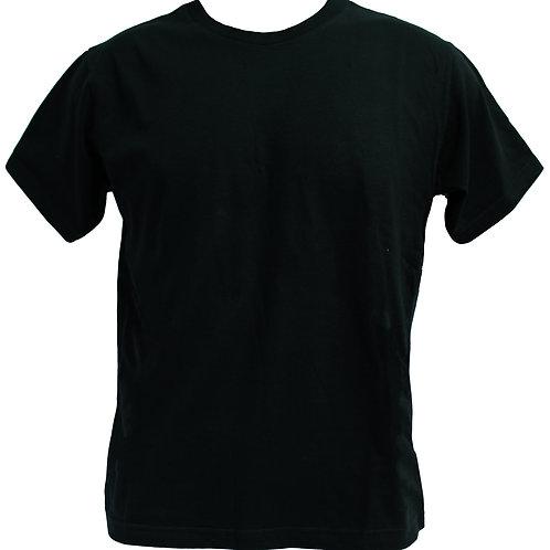 ROUNDNECK 100% COTTON (BLACK)